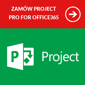 Zamów Microsoft Project Professional for Office365